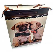 Пакет упаковочный подарочный Собаки и Кошки