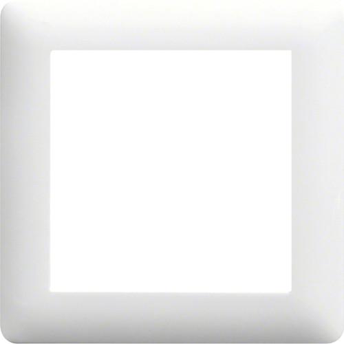 Рамка 1-кратная LUMINA2 Hager белая WL5010