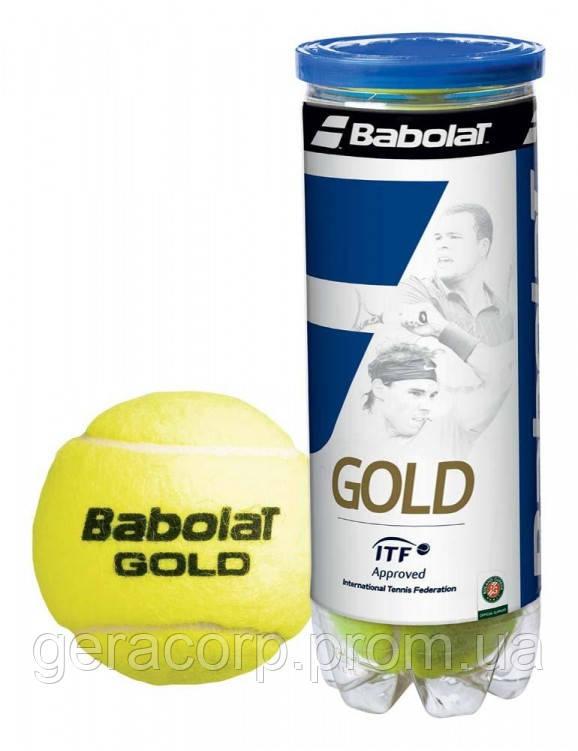 Мячи теннисные Babolat Gold x 4ball