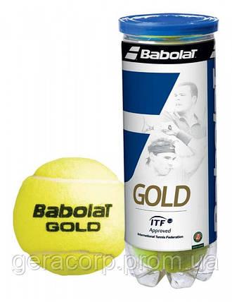 Мячи теннисные Babolat Gold x 4ball, фото 2