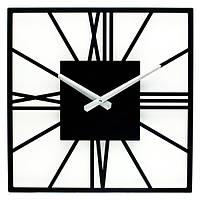 Металлические настенные часы Glozis New York Black