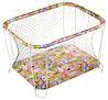 Манеж детский игровой  KinderBox классический Джунгли с крупной сеткой (kmk 310)