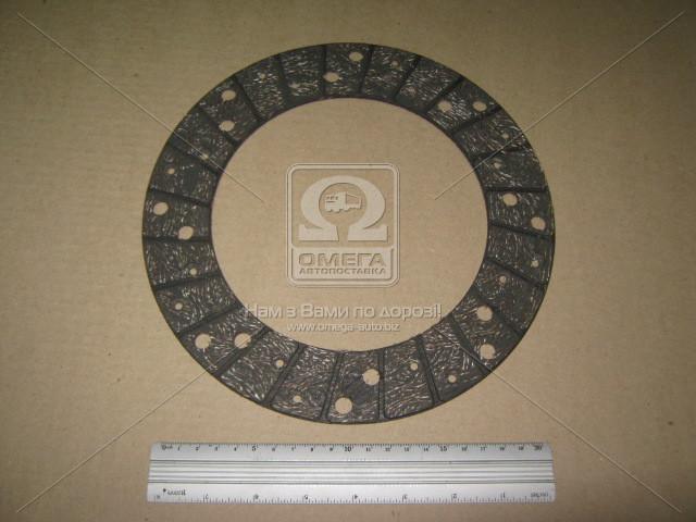 Накладка диска сцепл. ГАЗЕЛЬ безасбест. элипсонавитая (покупн. ГАЗ) 330242-1601138
