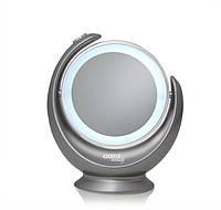 Косметическое зеркало GOTIE GMR-319S LED серое, фото 1
