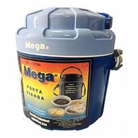 Термос для еды 2,6 л Mega с контейнерами