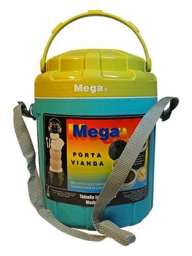 Термос для еды 3,5 л Mega с контейнерами