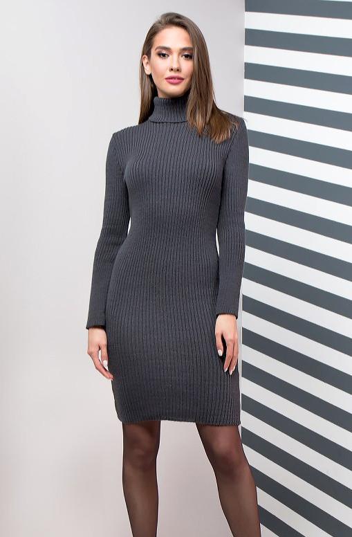 Базовое облегающее платье по фигуре (в расцветках 44-46)