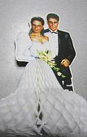 Декор настольный Жених и невеста 3D