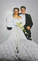 Свадебный декор настольный Жених и невеста 3D