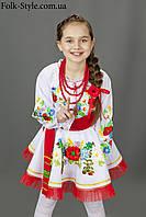 Український національний костюм для дівчинки №12(128-156см.)