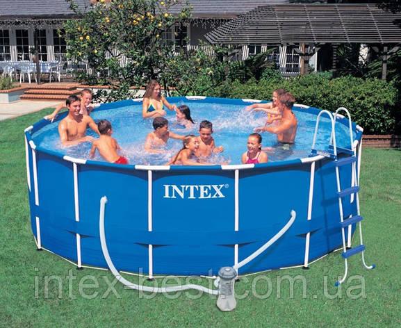 Каркасный бассейн Intex 56946 (457Х122 см), фото 2