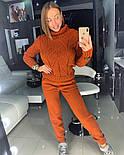 Женский вязаный костюм: свитер и штаны (4 цвета), фото 5