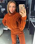 Женский вязаный костюм: свитер и штаны (4 цвета), фото 9