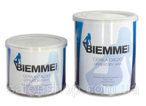 BIEMME (Италия), Воск в банке горячий азулен, 400 мл.