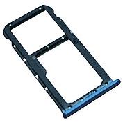 Лоток для сим карты и карты памяти для Huawei Mate 10 Pro (BLA-L09/BLA-L29), синий