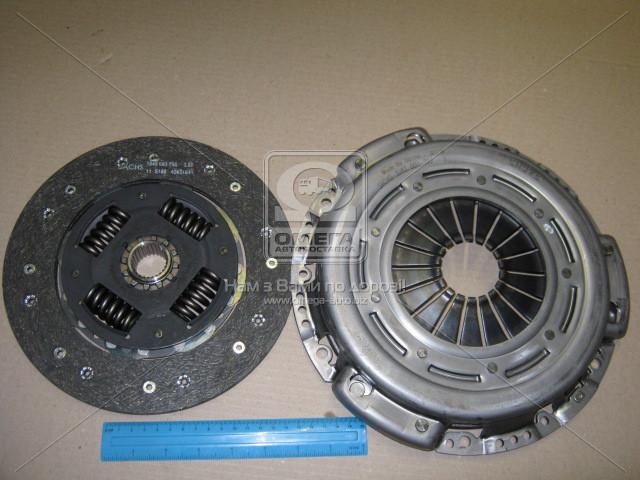 Комплект сцепления MERCEDES-BENZ (Производство SACHS) 3000 970 079