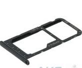 Лоток для сим карты и карты памяти для Huawei Mate 10 Pro (BLA-L09/BLA-L29), черный