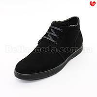 Мужские ботинки на молнии и шнурках, фото 1