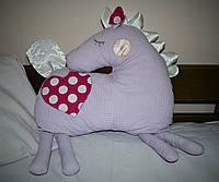 Игрушка - подушка Лошадка Лея для малышей из Волшебного Королевства Маленького Единорога / ns - 04
