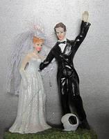 Фигурка на свадебный торт Футбол