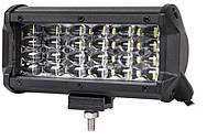 Фара LED 36W 5000K  10-30 В  планка балка додаткове світло робоче світло протитуманка AX-TR0424-4 Flood Ближнє