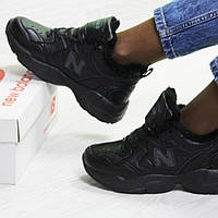 Зимние кроссовки женские, чёрные, New Balance (в наличии 36, 37 р)