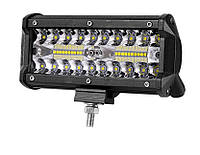 Фара LED 36W 5000K  10-30 В планка балка додаткове світло робоче світло протитуманка AX-TR140W Combo, фото 1