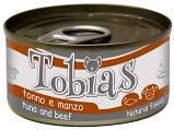 C1018915 Tobias Консерви для собак з тунцем і яловичиною, 170 гр