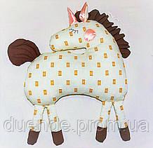 Игрушка - подушка Лошадка Адель для малышей из Волшебного Королевства Маленького Единорога / ns - 03