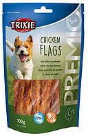 31539 Trixie Premio Chicken Flags палочки с курицей, 100 гр