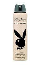 Дезодорант парфумований жіночий Playboy Play it Lovely 150мл.оригiнал