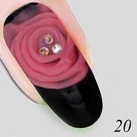 Гель для объемной лепки XD Plastiline №20 Nika Nagel,  5 г, фото 1