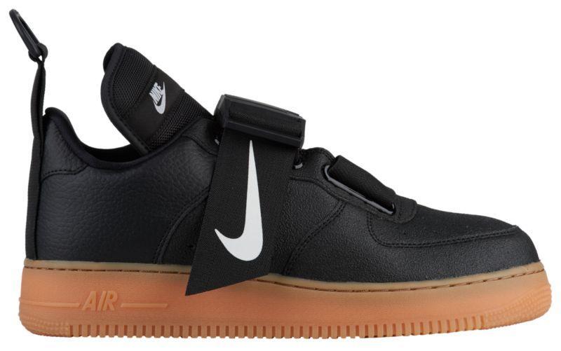 3aa9d11c Кроссовки/Кеды (Оригинал) Nike Air Force 1 Utility Black/White/Gum ...