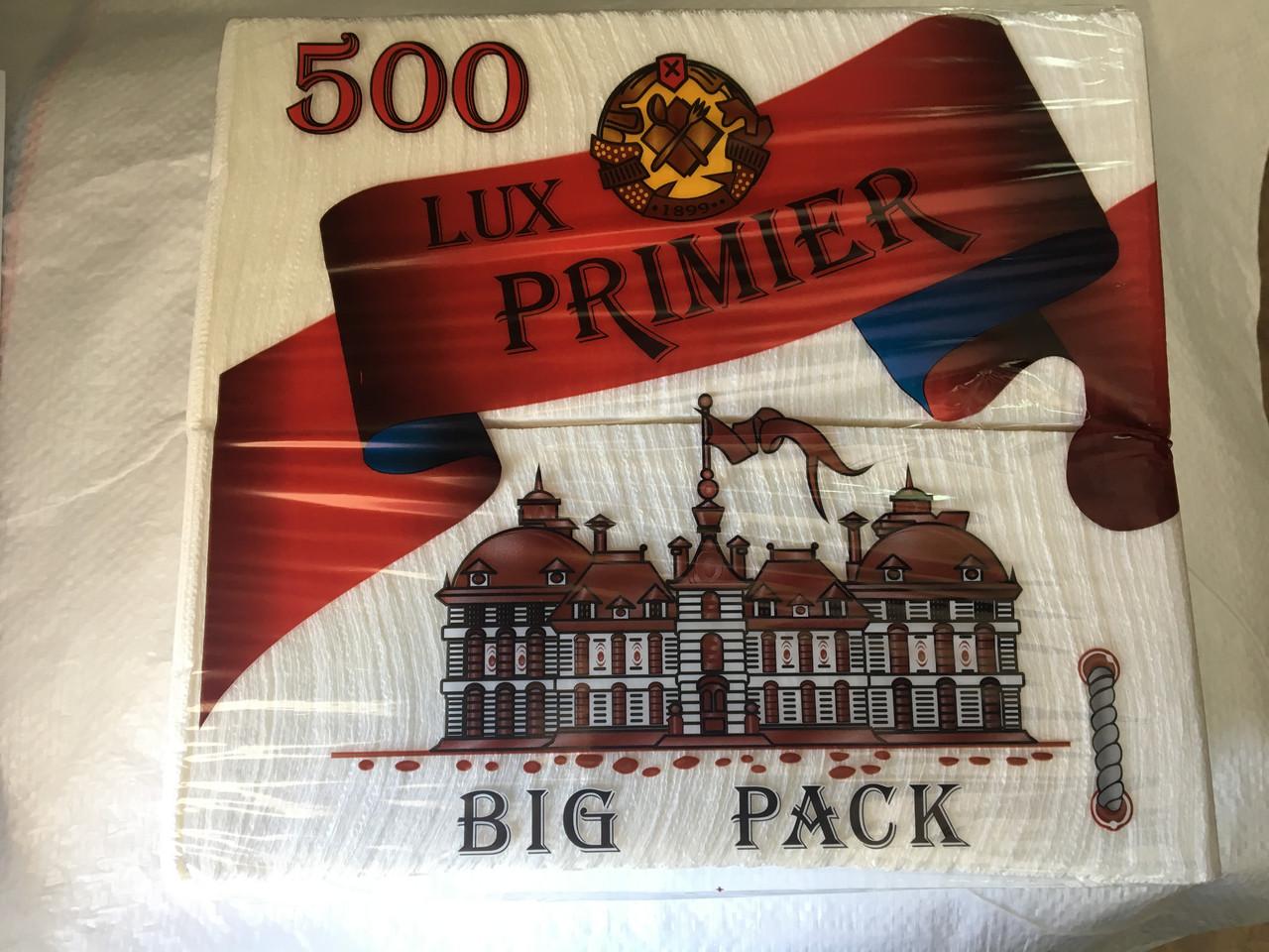 Салфетка барная LUX PRIMIER (бумажная) , 500 шт
