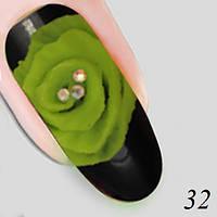 Гель для объемной лепки XD Plastiline №32 Nika Nagel,  5 г, фото 1