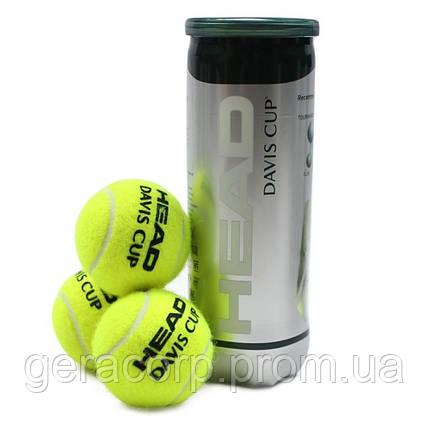 Мячи теннисные Head Davis cup 3B, фото 2