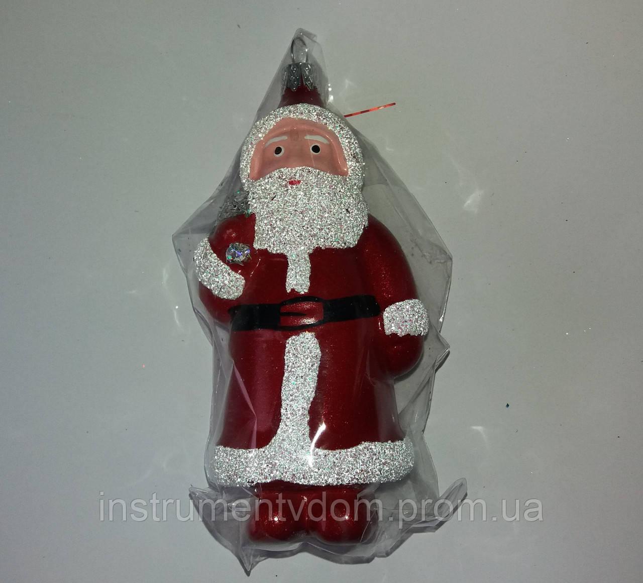 "Елочная игрушка ""Дед Мороз №3"" (13.5 см)"