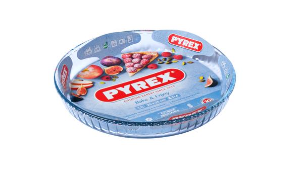 Форма с/к PYREX B&E форма стекл.кругл. 25см (1,1л) рифл.край (812B000)