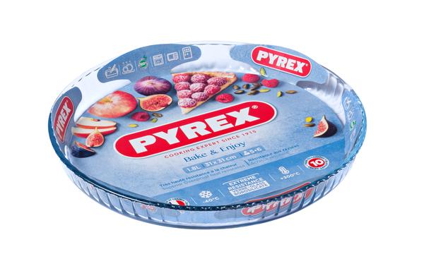 Форма с/к PYREX Flan dish 30 см /для запекания/круглая/стекло (814B000)