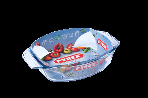 Форма с/к PYREX Irresistible форма стек.овал. 30х21х7см (2,0л) (410B000)