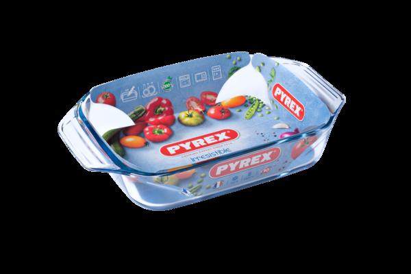 Форма с/к PYREX Irresistible форма стек.прямоуг. 31х20х6см (2,1л) (407B000)