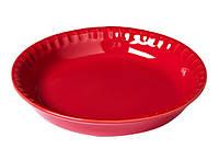 Форма с/к PYREX Supreme red форма керам кругл 25см (SU25BA5), фото 1