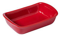 Форма с/к PYREX Supreme red форма керам прямоуг.26х18см (SU26RR5), фото 1