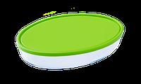 Форма с/к PYREX  форма с крыш.стекл. овал. 35х24х6см (3л) (346P002), фото 1