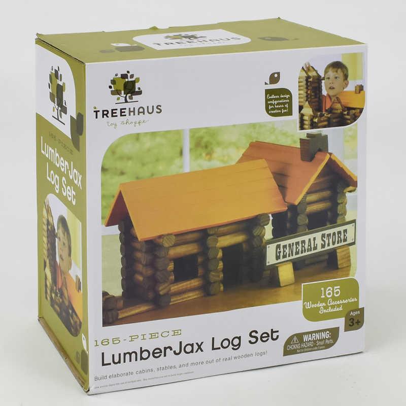 Домик деревянный Е 21362 (8) в коробке