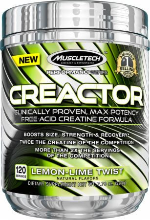 Креатин MuscleTech Creactor 220 g