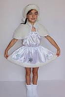 Дитячий костюм Сніжинка, фото 1