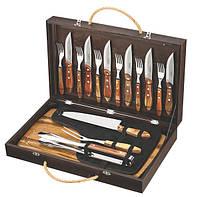 Барбекю TRAMONTINA Barbecue 17пр чемодан(нож,вил,щип,дост,ст.приб)цв.уп (21198/466), фото 1