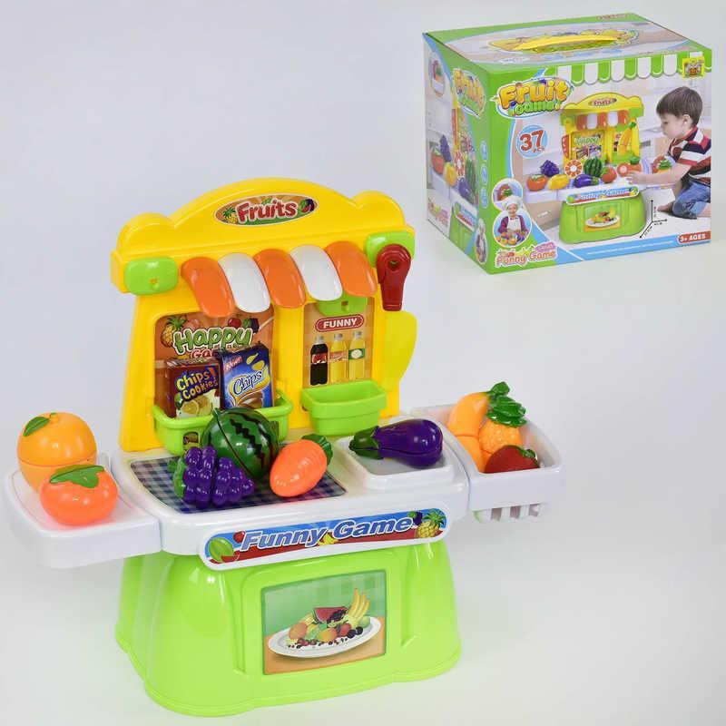 """Игровой набор """"Магазин овощей"""" 36778-101 (18) продукты на липучках, в коробке"""