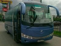 Лобовое стекло автобуса YUTONG (ЮТОНГ) 6831
